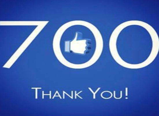 ¡La mejor forma de empezar el nuevo curso 2019-2020: 700 Likes!